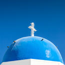 Firostefani: Blue Dome