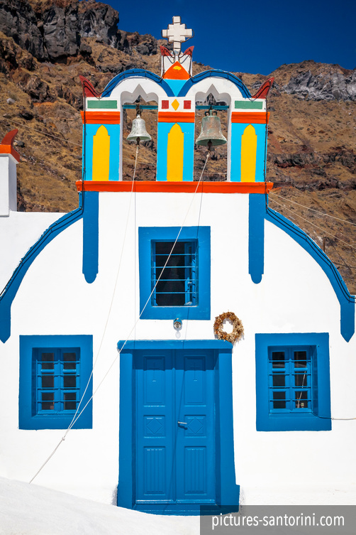 Thirasia: Colorful Chapel
